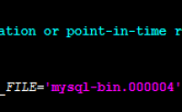 mysql主从复制——从库扩展