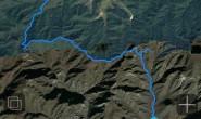 箭扣——头顶落石的攀爬,悬崖峭壁边上的行走